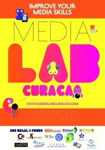 Flyer Medialab Curaçao front