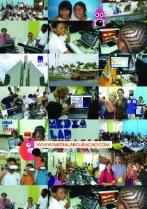 Flyer Medialab Curaçao back